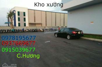 Cho thuê kho xưởng, 2000m2, xe công 40f vào được, ở Bình Chánh, giá 100 triệu/tháng 0937669677