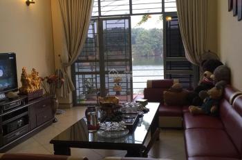 Bán nhà 3 tầng 1 tum đẹp view hồ, tập thể giày da Yên Viên, 64.8m2, MT 4m, hướng Tây Bắc, giá 3 tỷ
