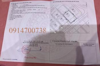 Bán lô đất biệt thự diện tích 597m2 giá 45 triệu/m2 tại KĐT Đông Hùng Thắng, P Bãi Cháy, Hạ Long