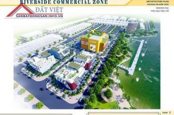 Chính thức mở bán dự án trung tâm TP Bạc Liêu Bạc Liêu Riverside Commercial Zone shophouse
