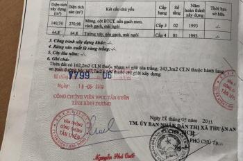 Đất mặt tiền Quốc Lộ 13, gần Sài Gòn, DT 1563m2, 50 tỷ, LH: 0908913611