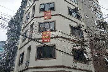Cho thuê nhà mặt phố Nguyễn Xiển, Thanh Xuân. Có thang máy điều hòa, 65m2 x 6T, MT 8m. Giá 36tr/th