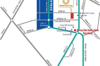Nhận đặt chỗ dự án mới ngay trung tâm thị trấn Lai Uyên, Bầu Bàng, Bình Dương, giá chỉ 610tr/nền