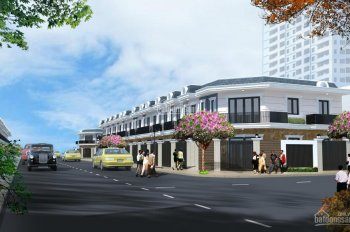 Nhà phố liền kề, nằm ngay bên cạnh chợ Tân Phước Khánh ngân hàng hỗ trợ vay, 70% LH: 0962479845