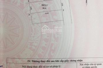 Cần bán nhanh mảnh đất tại thôn Yên Thường, xã Yên Thường, Gia Lâm, Hà Nội, diện tích: 34m2