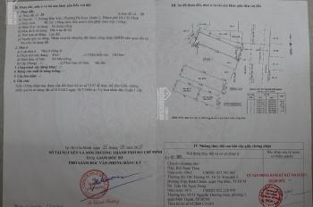 Bán nhà mặt tiền Trương Hán Siêu, Quận 1 ngay chợ kinh doanh sầm uất lề đường rộng rãi