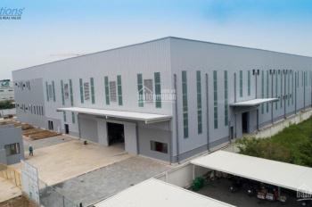 Cho thuê xưởng 18000m2 tại KCN Đức Hòa, Long An, 600 triệu, miễn phí 30 ngày. Cách Bình Chánh 5p