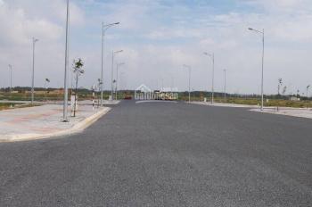 Bán đất thổ cư 200m2, giá 400tr ngay Quốc lộ 14 khu tái định cư Becamex, sổ hồng riêng lh Ms Hoa