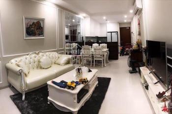 Cho thuê gấp căn hộ Vinhomes Central Park 1PN full nội thất giá 18 tr/th lầu 18, LH 0977771919