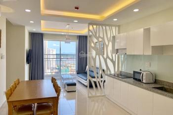 Chính chủ cho thuê căn hộ 3PN CC Long Sơn Building, Q.7, full nội thất, giá: 10 tr, LH: 0903390586