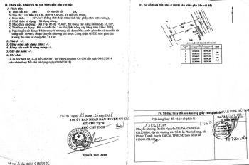 Bán đất thị trấn Củ Chi MT đường Phạm Phú Tiết, diện tích 5x21m, SHR, MTG, liên hệ: 0969877590