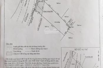 Bán lô đất mặt tiền đường Phạm Văn Đồng, DT: 2020m2 giá chỉ 105 tỷ, sổ hồng thổ cư 1600m2