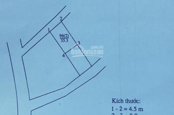 Bán đất 35.3m2 Ái Mộ, Yên Viên, Gia Lâm, Hà Nội, giá 750tr. LH 0989737045
