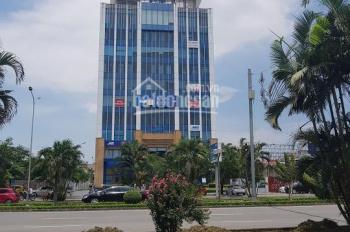 Cho thuê văn phòng rộng 550m2 thông sàn, tuyến 1 Lê Hồng Phong