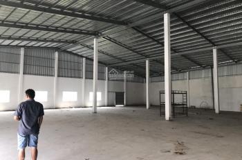Cho thuê 600m2 kho xưởng sản xuất kinh doanh nhỏ mặt tiền đường Mỹ Yên - Tân Bửu, Bến Lức, Long An