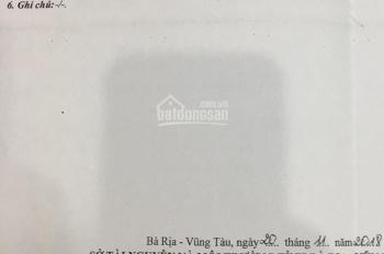 Bán gấp lô đất hẻm 1410 đường 30/4, phường 12, TP. Vũng Tàu