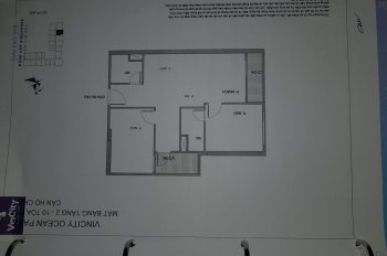 Chính chủ bán gấp căn hộ 2PN, 67.4m2, Vinhomes Ocean Park Gia Lâm, giá chỉ hơn tỷ - LH: 0335422113