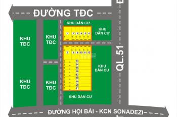 Bán đất phân lô Tân Hòa Thị xã Phú Mỹ, BR Vũng Tàu