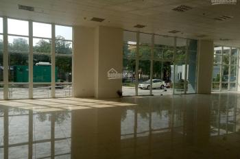 Cho thuê sàn thương mại tầng 1 tại chung cư CT36 Xuân La, DT 315m2, lô góc cực đẹp