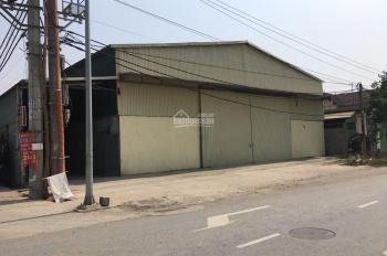 Cho thuê kho xưởng tại mặt đường Quốc Lộ 32, Sơn Tây, Hà Nội