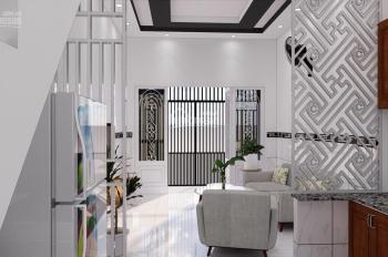 Nhà 1 trệt 1 lầu 2pn 2wc 820tr/căn, sổ hồng ngân hàng hỗ trợ vay 300tr, LH 0938190419