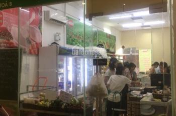 Shop chung cư 203 Nguyễn Huy Tưởng. Có khách cho thuê