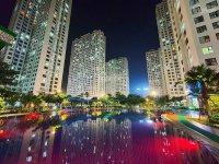 Cho thuê gấp sàn thương mại tầng 1 và 2 An Bình City diện tích 328m2, tiện kinh doanh giá siêu rẻ