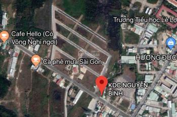 Bán đất KDC Nguyễn Bình, Nhơn Đức, Nhà Bè CSHT hoàn thiện 100% giá 20tr/m2. LH 0933125290