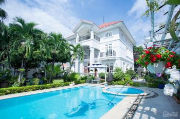 Biệt thự đẹp vip mặt tiền trung tâm Thảo Điền: 28x44m. 3 lầu hồ bơi sân thượng, giá 125 tỷ