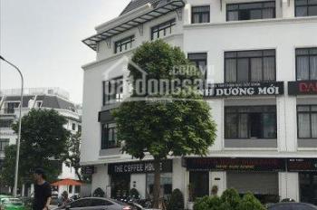 Cho thuê nhà phố shophouse Vinhomes, Hàm Nghi, Mỹ Đình, DT 110m2*6T + 1 hầm, MT 6m, giá 75tr/th