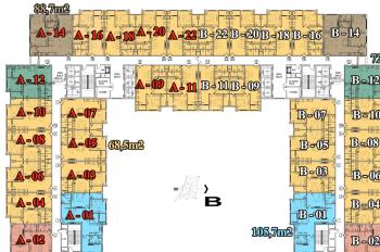 CC bán CHCC Athena Complex Xuân Phương 1501 - 101m2, giá 19.5tr/m2, 0966292726