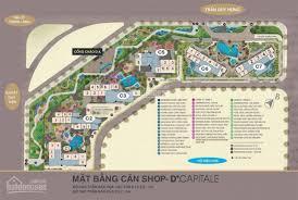 Cho thuê shophouse C3 - S05 Vinhomes D'Capital, phù hợp cafe, nhà hàng, siêu thị