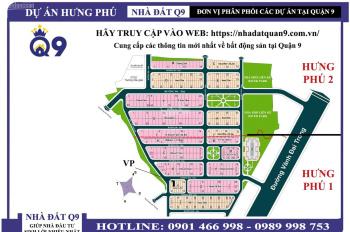 Chuyên bán nhanh đất nền khu dân cư Hưng Phú 2, P. Phước Long B, Quận 9
