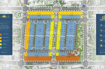 Sản phẩm đất nền có 4 mặt tiền đường rộng 22m-25m,pháp lý 1/500,sổ đỏ trao tay LH:0908.651190