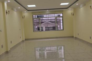 Cho thuê nhà Nguyễn Chánh, Cầu Giấy, DT 70m2, 6 tầng + 1 hầm. Thông sàn, thang máy, full điều hòa