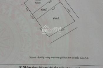 Bán đất: Thôn Đoài - Xã Nam Hồng - Huyện Đông Anh - TP Hà Nội. Diện tích: 130m2, rộng: 8m