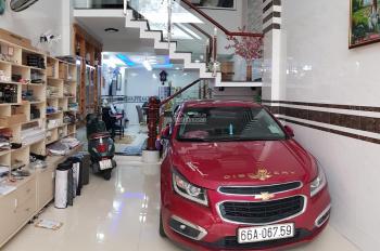 Nhà phố HXH 1/ Phạm Văn Chiêu 2 xe hơi né nhau DT 4x16m nở hậu 6m chữ L