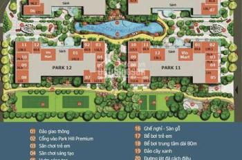 Bán shophouse Times City, Park Hill Premium, căn góc 140m2, giá 13 tỷ, bao phí, LH 0904691108
