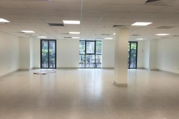 Cho thuê sàn tầng 1 trong tòa nhà văn phòng mặt phố Khâm Thiên, DT 170m2, MT 15m, giá 70tr/th