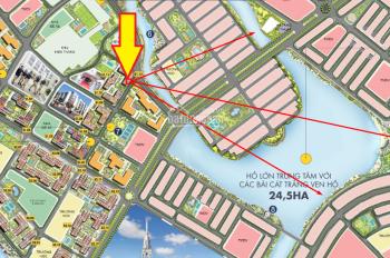Duy nhất căn hộ 2PN+1 ban công Đông Nam, view trọn biển hồ dự án Vinhomes Ocean Park. LH 0866616869