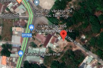 Cần bán lô 300m2 mặt tiền Lý Thái Tổ, xã Đại Phước, Nhơn Trạch, Đồng Nai, giá 6,2 tỷ