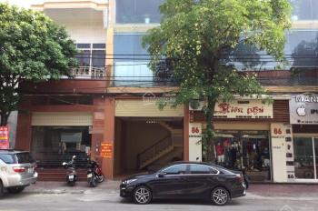 Cho thuê mặt bằng 86 Đặng Thái Thân, Vinh