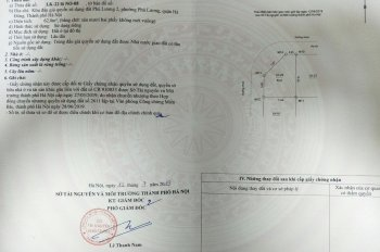 Chính chủ bán lô góc N0 - 08 - LK22 khu đấu giá Phú Lương 2, Q. Hà Đông - Hà Nội. LHCC 0913517661