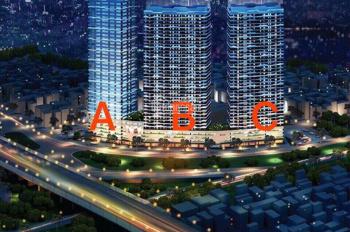 Bán nhanh căn hộ 66,3m2 2 PN - 3602 tòa B Intracom Riverside chân cầu Nhật Tân giá siêu hot
