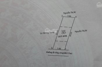Ngay vòng xoay Hiệp Thành 3m chợ cóc nhỏ buổi chiều, lô góc nhánh Phú Lợi DT 135m2, 2 tỷ 830
