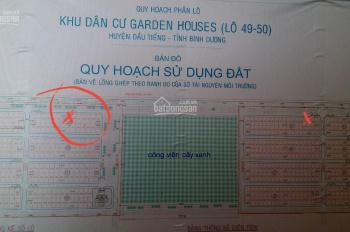 Bán 231m2 đất TC giá rẻ ở xã Định Hiệp, Dầu tiếng Bình Dương. DT 11*21m khu dân cư Garden Houses