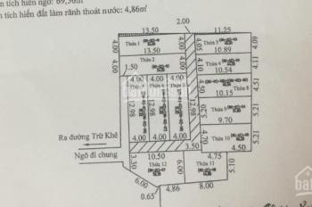 Chỉ với 400 triệu sở hữu ngay nhà 3 tầng tại Trữ Khê, Kiến An, Hải Phòng