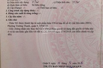 Kẹt tiền bán gấp MT Nguyễn Duy Trinh, 70tr/m2, Quận 9, LH 0988 700 287