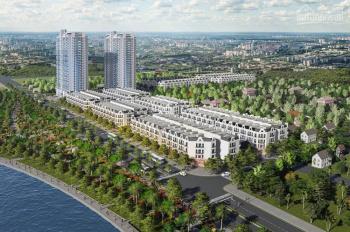 Shophouses Trâu Quỳ, Gia Lâm, view hồ, khối đế chung cư, diện tích 90m2, 43tr/m2, LH: 0914718746