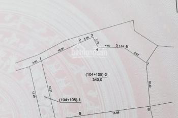 Bán đất sen hồ Lệ Chi Gia Lâm: 340m2 - chia được 7 mảnh - giá đầu tư quá tốt